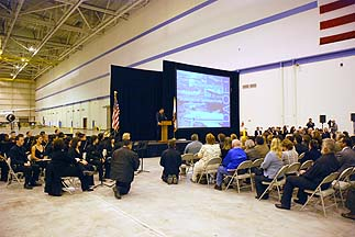 Dryden Aircraft Operations Facility Dedication, April 9, 2009